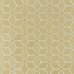 Cupola Fabric In Ochre