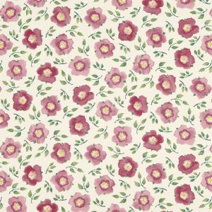 Hellebore China Fabric In Rose Pink