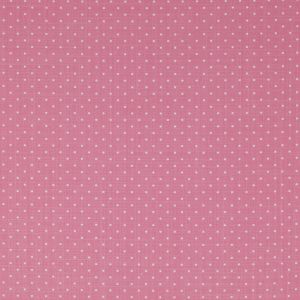 Jane Churchill Pippin Spot Fabric J641F-06 in 'Dark Pink'