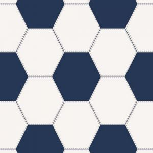 Lilleby 2683 Wallpaper in 'Blue/White'