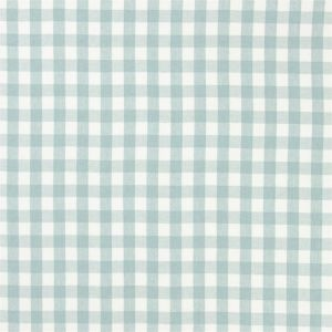 Ralph Lauren Signature Vintage Linen Old Forge Gingham Fabric FRL169/07 'Pool White'