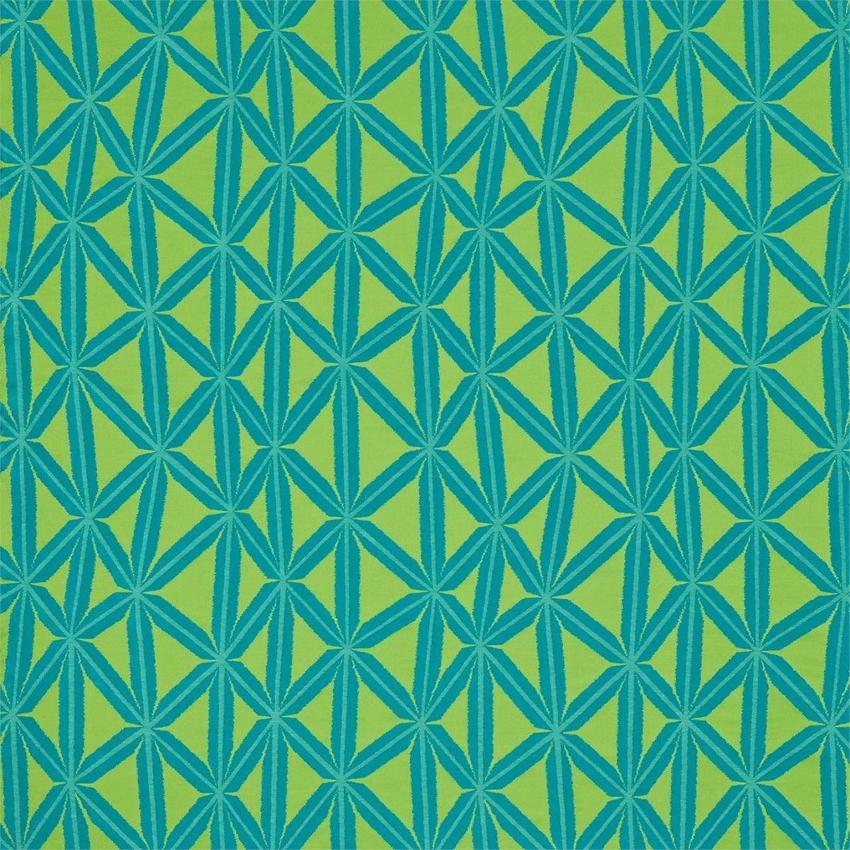 Products harlequin designer fabrics and wallpapers paradise - Rumbia Fabric In Lagoon Gooseberry