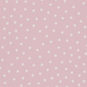 Sanderson Wallpaper Emma Bridgewater Polka Dot 213616 in 'Rose Pink'