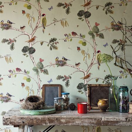 Sanderson 'Woodland Chorus' Wallpaper