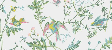 Hummingbirds 112/4015 'Green & Pink'