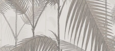 Palm Jungle 112/1004 'Stone & Taupe'