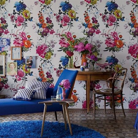 Designers Guild 'Amrapali' Wallpaper