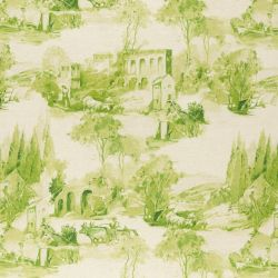 Clarke & Clarke Colony Anastacia Fabric F0997 02 Citron