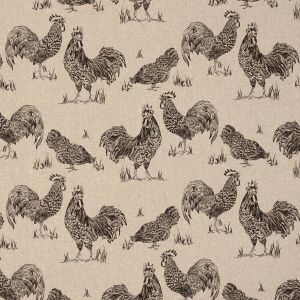 Clarke & Clarke Fougeres Chickens Fabric F0765/01