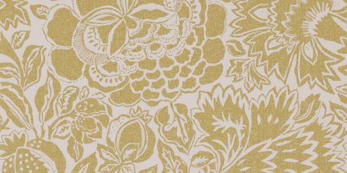 Sanderson's Poppy Damask Wallpaper in Linden/Chalk from the 'Sojourn' Wallpaper Collection