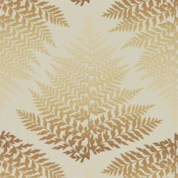 Filix Wallpaper from the 'Callista' Collection in Gold/Bronze