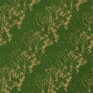 Harlequin Burnet Fabric in 'Emerald/Gold'