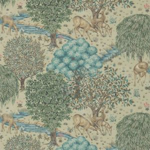 Morris & Co The Brook Wallpaper In Linen