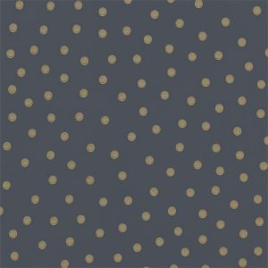 Polka Dot Wallpaper In Charcoal