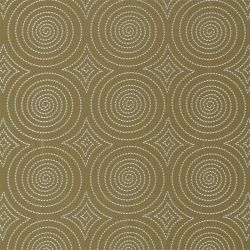 Sakura Fabric In Ochre