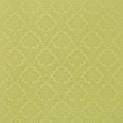 Sanderson Lymington Damask Fabric DLYM232623 Leaf Green