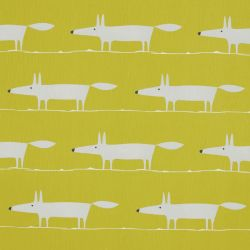 Scion Lohko Mr Fox Fabric 120499 Kiwi
