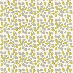 Scion Melinki Two Rosehip Fabric 120099 Chalk Olive Pimento Gull
