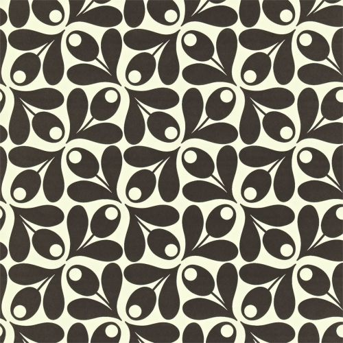 Small Acorn Cup Wallpaper in Ebony