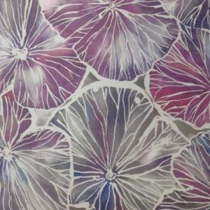 Nelumbo Wallpaper in 'Tourmaline'