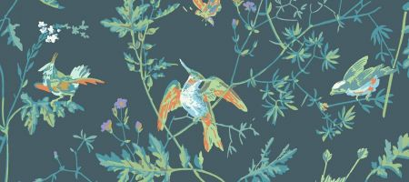 Hummingbirds 112/4014 'Viridian'