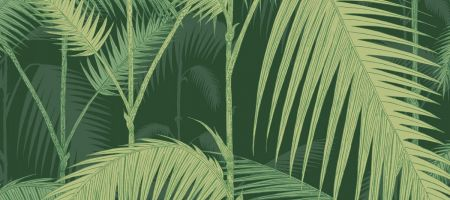 Palm Jungle 112/1003 'Forest Green'