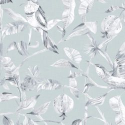 Colyford Damask in 'Robins Egg'