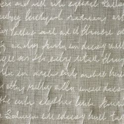 Typographera in 'Linen'